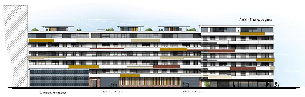 NB von 2 Wohnhausanlagen mit 146 Wohneinheiten, Liften, TG, PKW-Stellplätzen